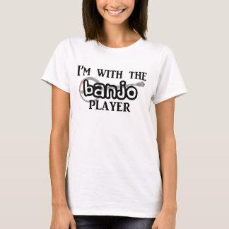 バンジョープレーヤー Tシャツ