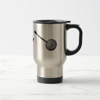 バンジョー及びマンドリンのピッカーコーヒー・マグ トラベルマグ