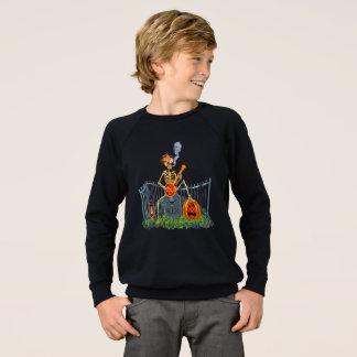 バンジョーPLAYINの骨 スウェットシャツ