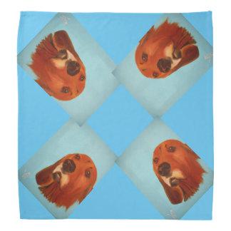 バンダナの赤い骨の猟犬 バンダナ