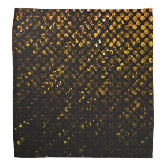 バンダナの金ゴールド水晶きらきら光るなStrass バンダナ
