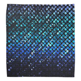 バンダナ青い水晶きらきら光るなStrass バンダナ