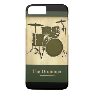 バンドのドラマー iPhone 8 PLUS/7 PLUSケース