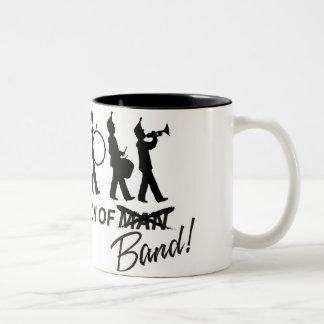 バンドの進化 ツートーンマグカップ