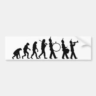 バンドの進化 バンパーステッカー