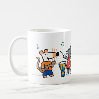 バンドのMaisyおよび友人の演劇 コーヒーマグカップ