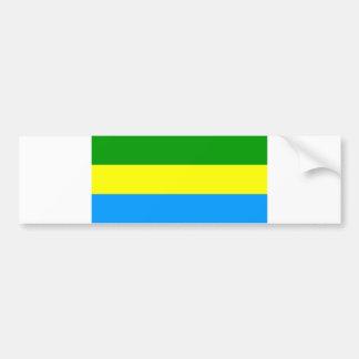 バンドン都市旗のインドネシアの記号 バンパーステッカー