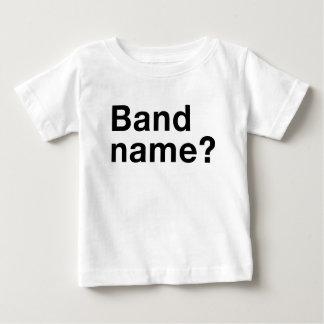 バンド名前か。 Tシャツ