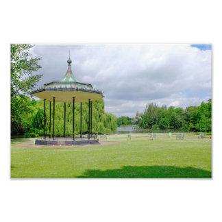 バンド立場の理事の公園、ロンドンのプリント フォトプリント