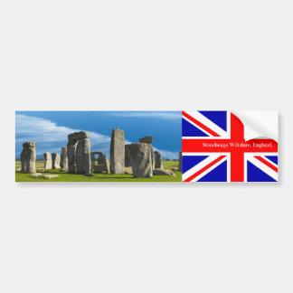 バンパーステッカーのためのイギリスの陸標のイメージ バンパーステッカー