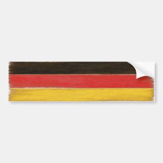 バンパーステッカーのカッコいいの動揺してなドイツの旗 バンパーステッカー