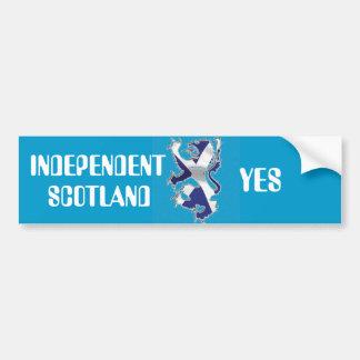 バンパーステッカーの独立者スコットランド バンパーステッカー