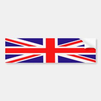 バンパーステッカーの英国国旗 バンパーステッカー