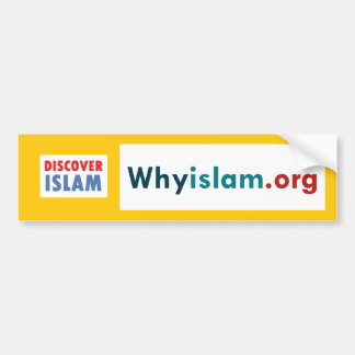 バンパーステッカーはイスラム教(7)を発見します バンパーステッカー