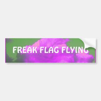 バンパーステッカーを飛ばす異常な旗 バンパーステッカー