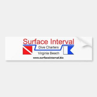 バンパーステッカー#1の表面間隔のチャーター、株式会社 バンパーステッカー