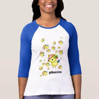 バンビネッシーのラグラン Tシャツ