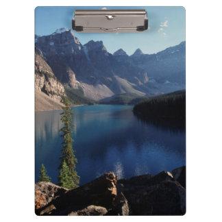 バンフ国立公園のmoraine湖 クリップボード