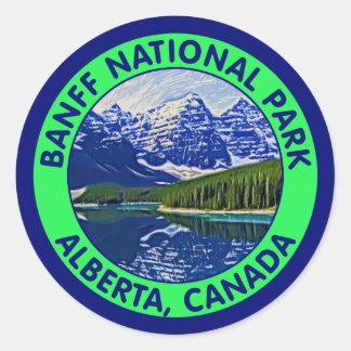 バンフ国立公園、アルバータ、カナダ ラウンドシール