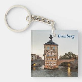 バンベルク古い市庁舎およびObere橋 キーホルダー