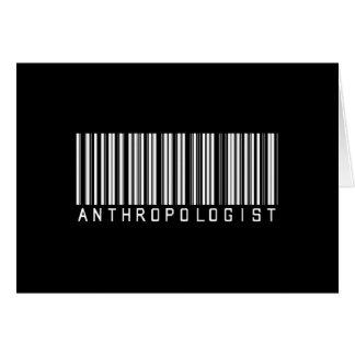 バーの人類学者の暗闇 カード