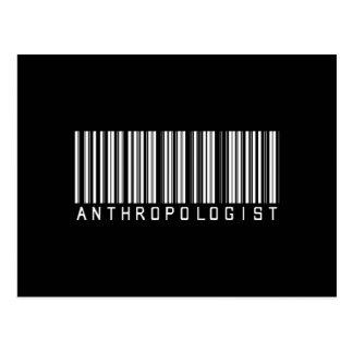 バーの人類学者の暗闇 ポストカード