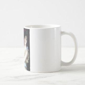 バーの女中のヴィンテージポスター コーヒーマグカップ