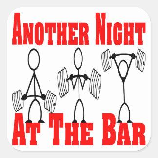 バーの重量挙げ#4の別の夜 スクエアシール