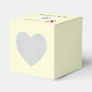 バーガンディの標準的なリボンのテンプレート フェイバーボックス