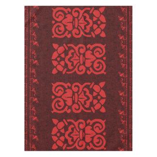 バーガンディの赤のアマルフィのテーブルクロス テーブルクロス