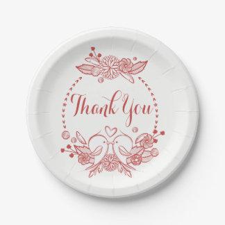 バーガンディは赤い仲の良い恋人同士の花の結婚式感謝していしています ペーパープレート