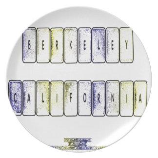バークレーのキーボード パーティープレート