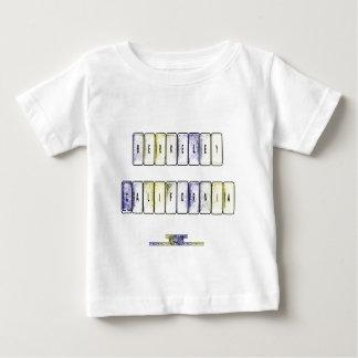 バークレーのキーボード ベビーTシャツ