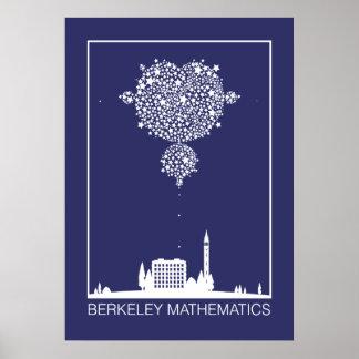 バークレーの数学: 星 ポスター