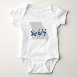 バークレーミズーリMOのワイシャツ ベビーボディスーツ