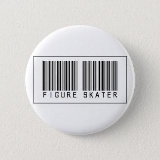 バーコードのフィギュアスケート選手 缶バッジ