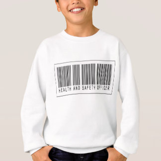 バーコードの保健及び安全性の役人 スウェットシャツ