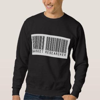 バーコードの市場調査員 スウェットシャツ