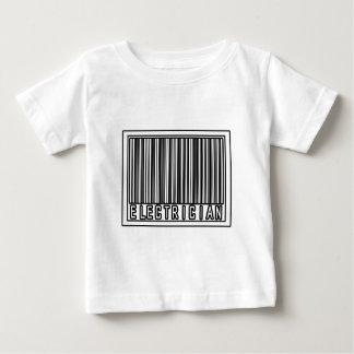 バーコードの電気技師 ベビーTシャツ