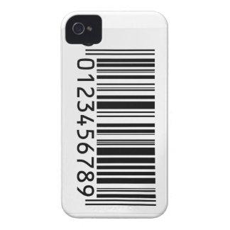 バーコードのiphoneの場合 Case-Mate iPhone 4 ケース