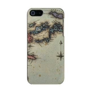 バージン諸島 メタリックiPhone SE/5/5sケース
