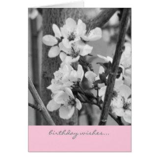 バースデー・カード-誕生日の願い カード