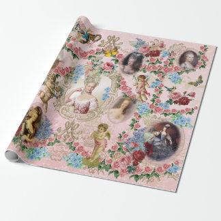 バーセイルズのMarieアントワネットの包装紙のバラ ラッピングペーパー