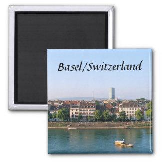 バーゼルかスイス連邦共和国-記念品の磁石 マグネット