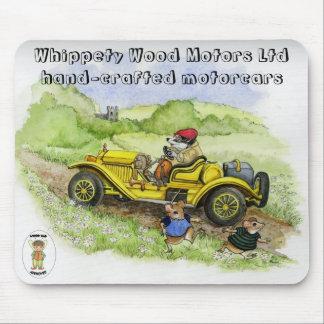 バーティーのアナグマの自動車のmousepad マウスパッド