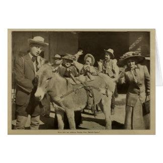 バーティーの強盗1911年の無声映画場面Fischer カード