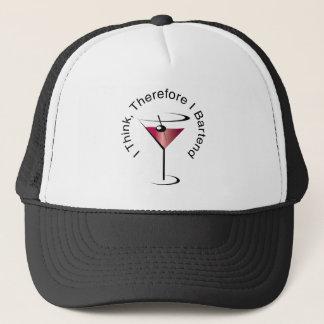 バーテンダーのマルティーニのカクテルの帽子 キャップ