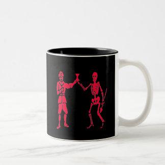 バートのロバーツ#2-の赤 ツートーンマグカップ