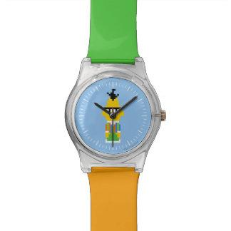 バートピクセル芸術 腕時計