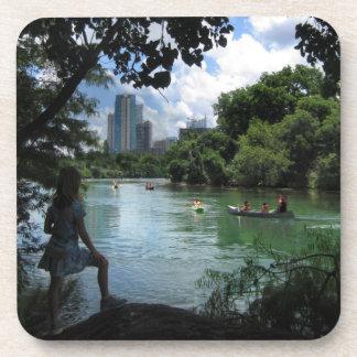 バートンの入り江/ladybird湖-オースティン、テキサス州 コースター